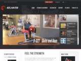 Feel The Strength. - Atlantis Inc. | Manufacturer and worldwide distributor of high quality strength equipment and gym equipment and fitness equipment.
