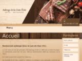Auberge restaurant dans l'Indre (36), Cher (18), et le Loir et Cher (41) : Auberge de la Croix Verte