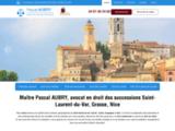 Avocat Saint-Laurent-du-Var – Droit succession Grasse, Nice | Me AUBRY