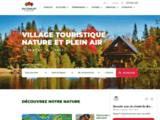 Location de chalets en bois rond au quebec (Canada). Au chalet en bois rond.