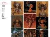 painting, women