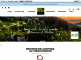 Epicerie fine et liqueurs à base de citron de Menton
