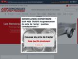 Vente remorque 83 accessoires remorques, bagagere, porte voiture moto - ASP Remorques Le cannet des maures Var (83)