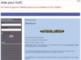 Bienvenue ! - Aide pour KofC