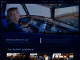 Simulateur de vol à Lyon, Toulouse, Tours et Bordeaux  Vivez l'expérience AviaSim  - AviaSim