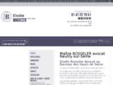 Avocat victime Neuilly-sur-Seine - Droit santé   Me BOSSELER