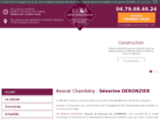 Cabinet d'avocat Chambery