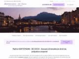 Avocat Grenoble – Préjudice corporel   Me Hartemann-De Cicco