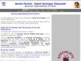 Avocat Spécialiste Famille   Annie Ferval - Saint Georges Chaumet   Paris