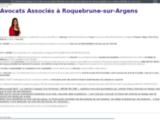 Avocat droit public, routier, des affaires, Roquebrune