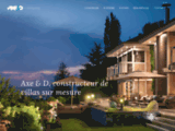 AXED | Constructeur de villas d'architecte Haut de Gamme