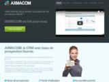 Axmacom CRM : le logiciel de prospection commerciale telephonique avec fichier des societes inclus et fournis.