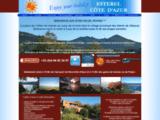 Azur et Gîtes : Vacances sur la Côte d'Azur au Coeur du massif de l'Esterel