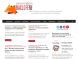 Association Baclofene - Baclofène traitement de l'alcoolisme