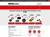 Fabrication de badges ronds personnalisés et dérivés-publicité-décoration