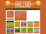 Ballkid, site de jeux de tennis en flash