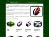 La boutique des ballons de rugby
