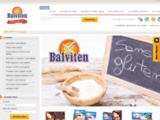 Balviten, vente en ligne de produits sans gluten, sans oeuf, sans sans lait, PKU, sans soja et sans amidon de blé. Boutique épicerie sans gluten.