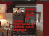 Restaurant Bar le Temps des Cerises Villefranche-de-Lonchat