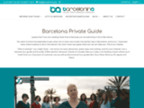 Guide privé à Barcelone en français