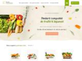 Basilic & Mirabelle : La nature à votre porte. Livraison de paniers de fruits et de légumes BIO et locaux à domicile.