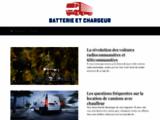 Batterie et chargeur - Vente de batterie auto et moto, chargeur pour batterie