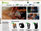 Bébéluga : Vente en ligne de porte bébé physiologique
