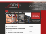 Maçonnerie:  Restauration et réparation résidentiel et commercial