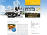 Location benne Toulouse 31 - Tél  : 05.82.95.25.55