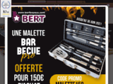 Bert, Boyaux naturels de porcs pour saucisson & saucisses