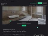 Décoration d'intérieur maison Caen – Béton ciré | BERTHELOT DECO