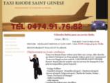 Taxi Rhode Saint Genese Belgique - Taxi aeroports, gares