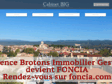 Agence immobiliere Le Beausset Var Location Vente - Cabinet BIG