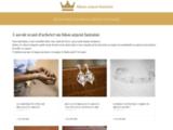 Vente bijoux fantaisie en argent