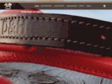 Collier pour chien en cuir en vente en ligne