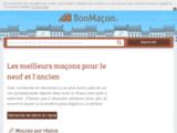 BonMaçon : maçons et entreprises du bâtiment