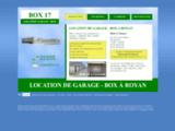 BOX 17 - Location de box et garage à Royan en Charente Maritime (17)
