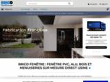 fournisseur Fenetre, fabricant de fenetre volet PVC ALU BOIS en ligne ou sur devis Brico fenetre