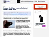 Briquet électrique : un briquet d'un nouveau genre