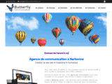 Agence BUTTERFLY Communication Narbonne Web & Print (Aude 11)