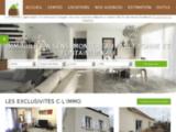 Agence immobilière C-L'IMMO - Immobilier SENS et MONTEREAU FAULT YONNE achat maison fermette appartement terrain à SENS et à MONTEREAU FAULT YONNE