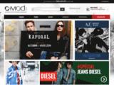 C-MOD, la boutique fashion-discount en ligne, jean diesel, jean temps des cerises, jean levi's…