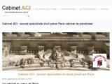 Avocat droit pénal à Paris - Cabinet d'avocat de maitre ACI