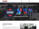 Cachot Matériel, négoce de matériels de concassage-criblage