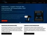 CADvision : logiciels de CAO et imprimantes 3D professionnelles