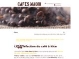 Boutique torréfacteur de café à Nice.