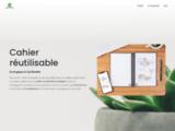 Le cahier réutilisable écologique | Cahier effaçable