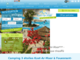 Camping Fouesnant (29) : Camping Kost-Ar-Moor