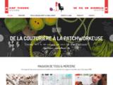 Mercerie, magasin de tissus et loisirs créatifs dans l'Indre (36) | Cap Tissus