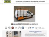 Car-mo : Pupitre porte verre, berce vitre, galerie pour vehicule utilitaire